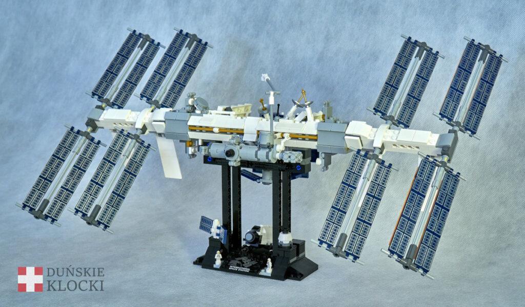 Zdjęcie ukończonego zestawu 21231 Międzynarodowa Stacja Kosmiczna