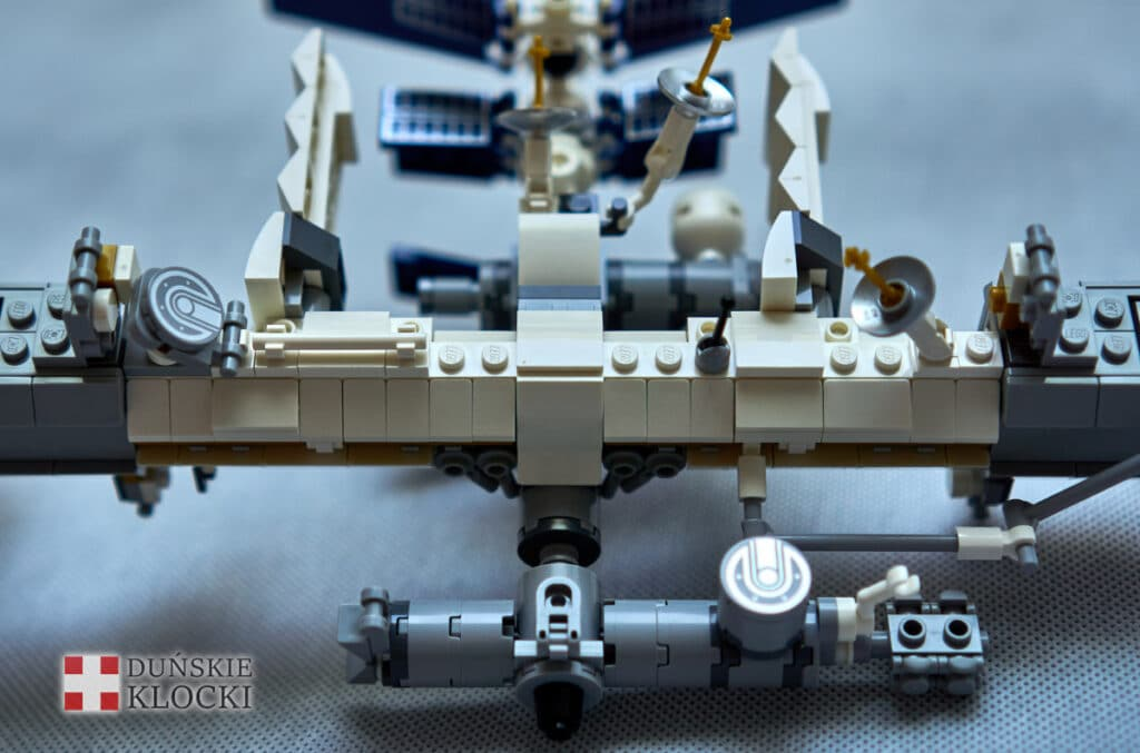 Zdjęcie modułów zestawu LEGO Międzynarodowa Stacja Kosmiczna