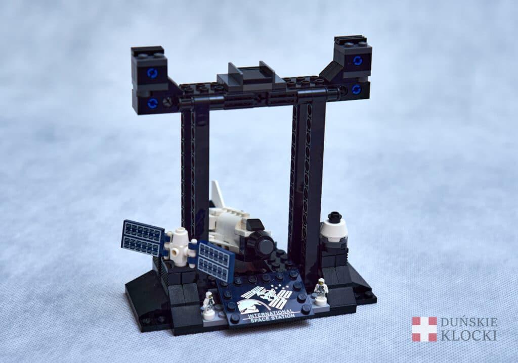Zdjęcie podstawy zestawu 21321 Międzynarodowa Stacja Kosmiczna