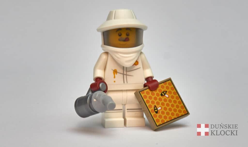 Pszczelarz z 21 serii minifigurek