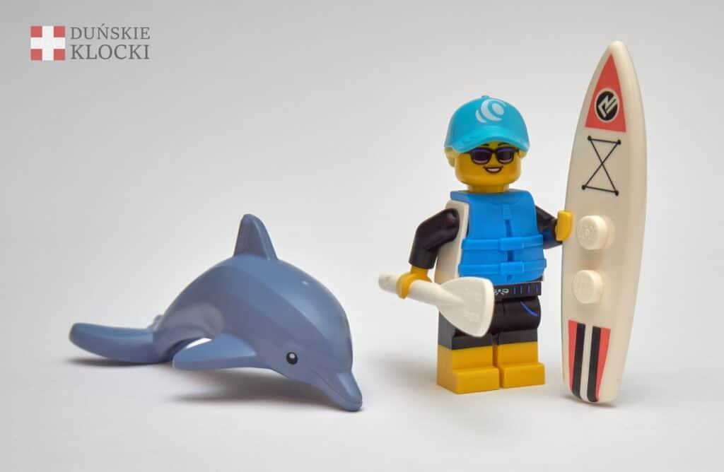 Paddleboardzista z 21 serii minifigurek